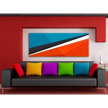 Colours & Lines - színes formák - no. 100160