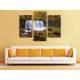 Három részes vászonkép - Natural Water Curtain - Vízesés Vászonkép 3a-100455