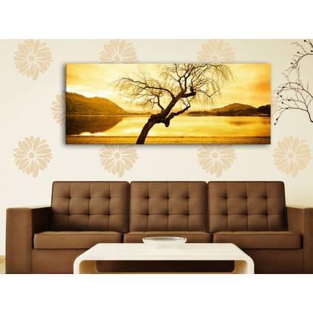 Yellow sky tree alone - magányos fa - 100181