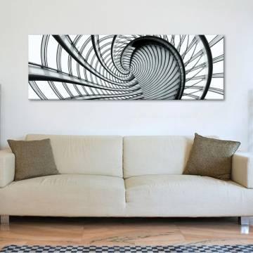 Spiral stairs - csigalépcsõ - vászonkép