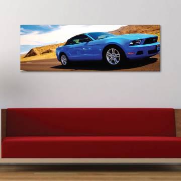 Blue power - autós - vászonkép