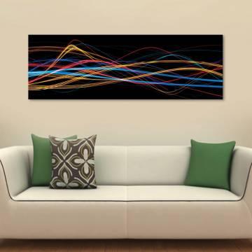 Abstract colors - vászonkép