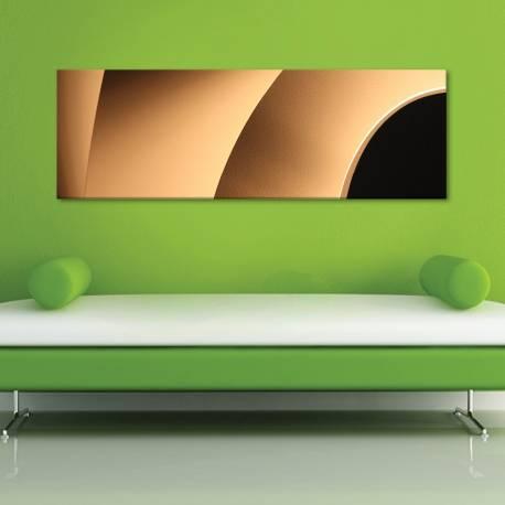 Golden curves - arany ívek - vászonkép
