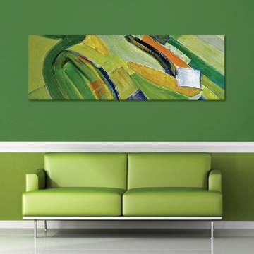 Painted green - vászonkép