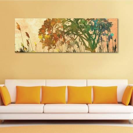 Painted tree - festett fa - vászonkép