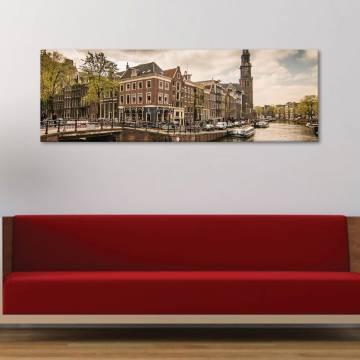 Amsterdam - vászonkép