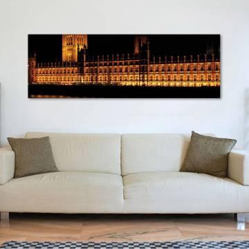 London parlament - vászonkép