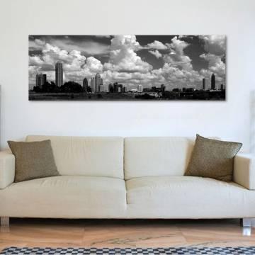 Atlanta skyline - vászonkép