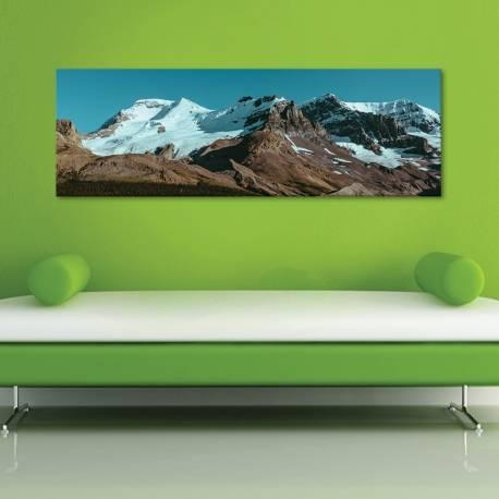 snowy mountain peak - havas hegycsúcs - vászonkép