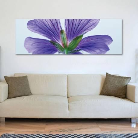 Blue flower - kék virág - vászonkép