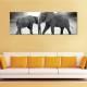 Elephats together - elefántok - vászonkép