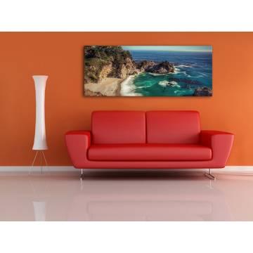 Rocky beach - sziklás tengerpart - vászonkép 100237