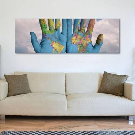 The world… - vászonkép