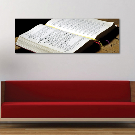 Book of the music - kotta - vászonkép