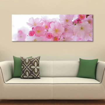 Pink blossom - rózsaszin virágzás - vászonkép