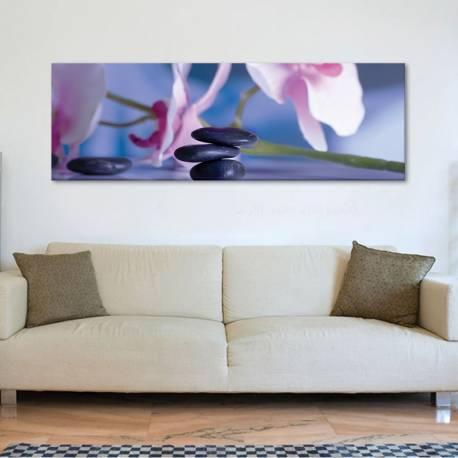 Zen orchids - orchidea - vászonkép