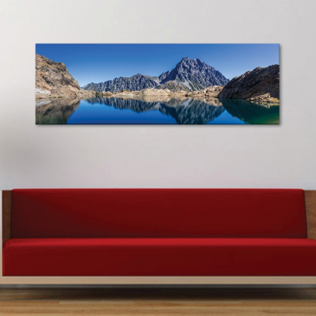 Mountain lake - vászonkép