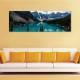 Turquoise mountain lake - hegyi tó - vászonkép