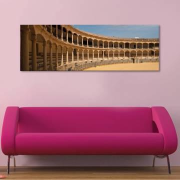 Amfiteatrum - építészeti ívek vászonkép