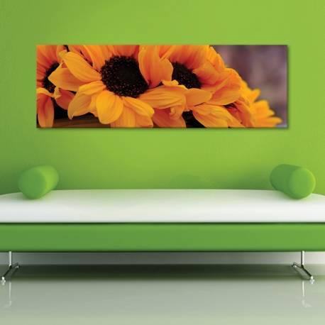 Sunflowers in shadow - Napraforgó árnyékban vászonkép