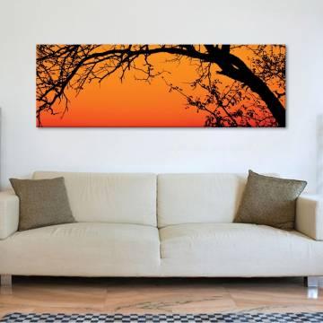 Tree in orange - Fa narancsban vászonkép