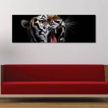 Yawning Tiger - Ásító tigris vászonkép