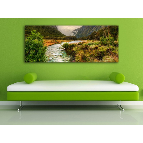 Mountain streamlet - hegyi patak vászonkép 100293