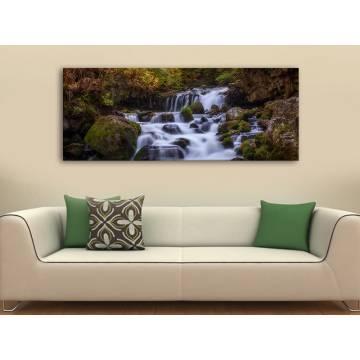 Mountain water - hegyi patak vászonkép 100311