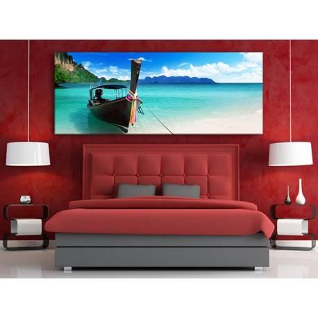 Wonderful Thai beach - Thaiföld tengerpart vászonkép 100324