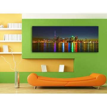 Colored reflexions of city - színes fények tükrözõdése 100330