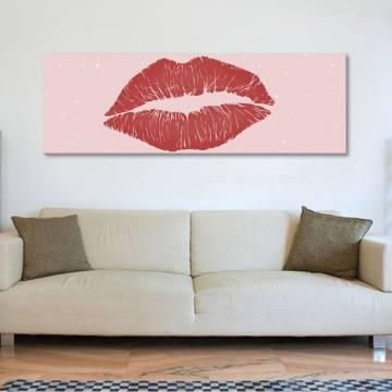 Kiss - Csók - vászonkép