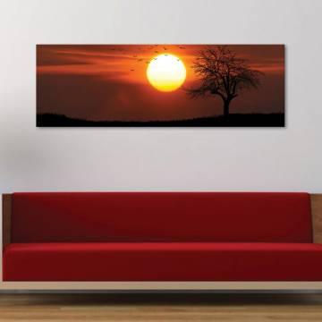 Mystical Sunset - Misztikus naplemente - vászonkép