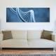DNA spiral - DNS vászonkép - vászonkép