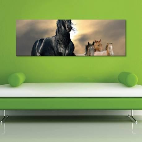 Horses - vászonkép