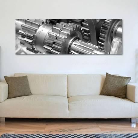 Gears - fogaskerekek - tech - vászonkép