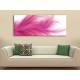 Pink Feather - tollpihe vászonkép 100370