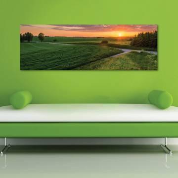 Wonderful sunrise - gyönyörû naplemente - vászonkép
