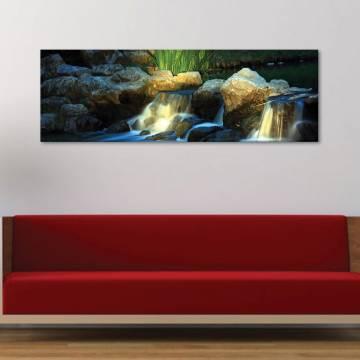Stream in light - patak a fényben - vászonkép