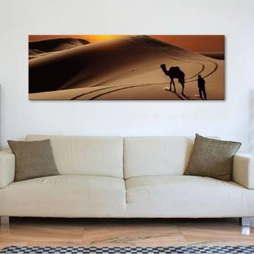 Hard journey - nehéz út a sivatagban - vászonkép