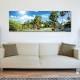 Palm tree forest - pálmafák - vászonkép