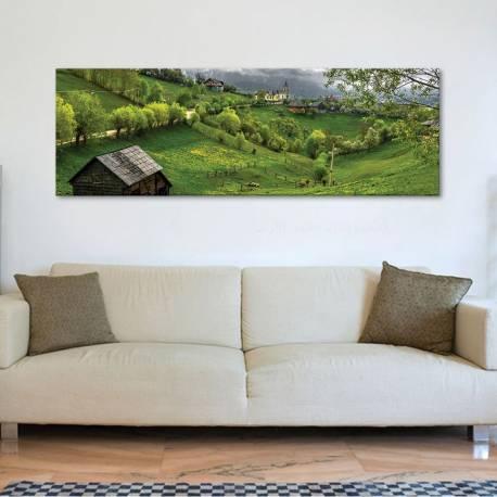 Transylvania landscape - Erdély tájkép - vászonkép