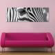 Zebra eyes - Zebra - vászonkép