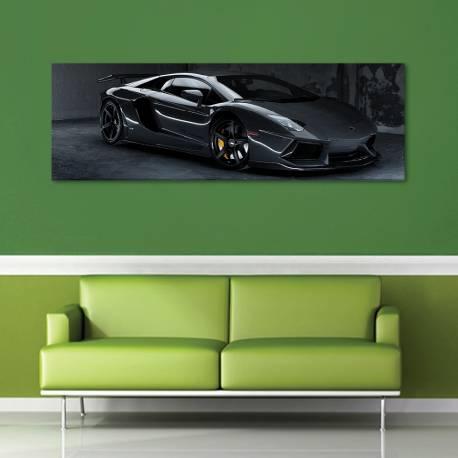 Black speed monster - fekete szörnyeteg - vászonkép