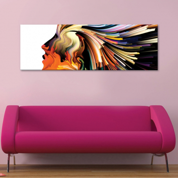 Colorface - vászonkép