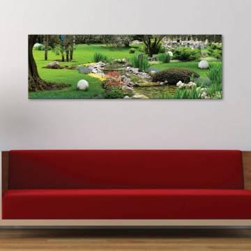 Garden - kert - vászonkép