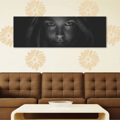 Look into her eyes - nõi szemek - vászonkép
