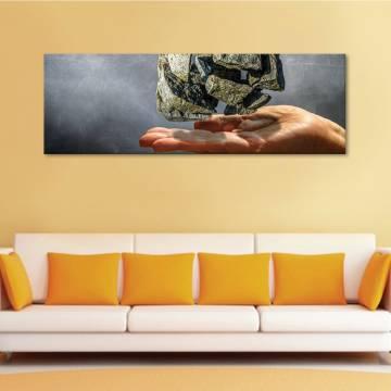 Levitating stones - lebegõ kövek - vászonkép