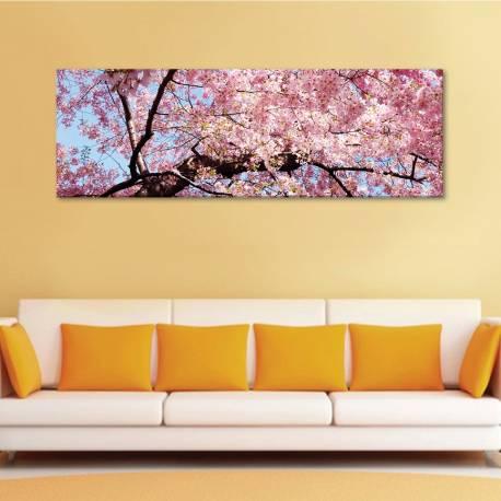 Tree full of flowers - virágba borul fa - vászonkép