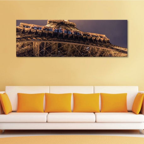 Eiffel Food - Eiffel monstrum - vászonkép