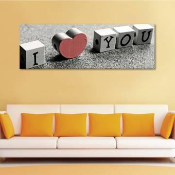 I Love You - vászonkép